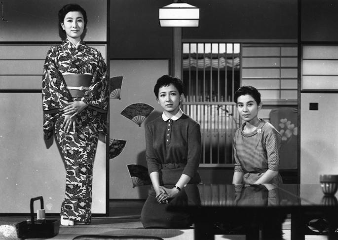 ineko-arima-yoshiko-kuga-and-fujiko-yamamoto-in-higanbana-1958