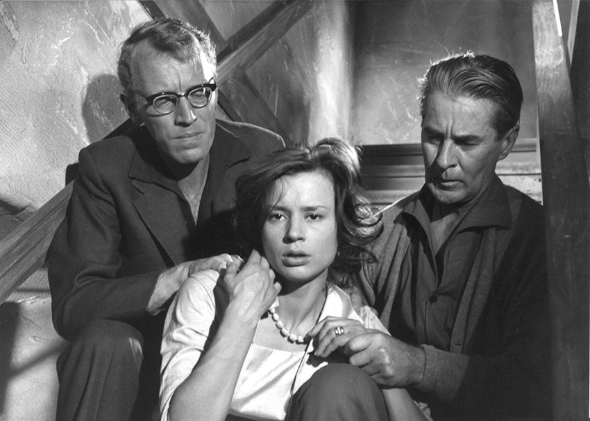 max-von-sydow-harriet-andersson-and-gunnar-bjornstrand-in-sasom-i-en-spegel-1961