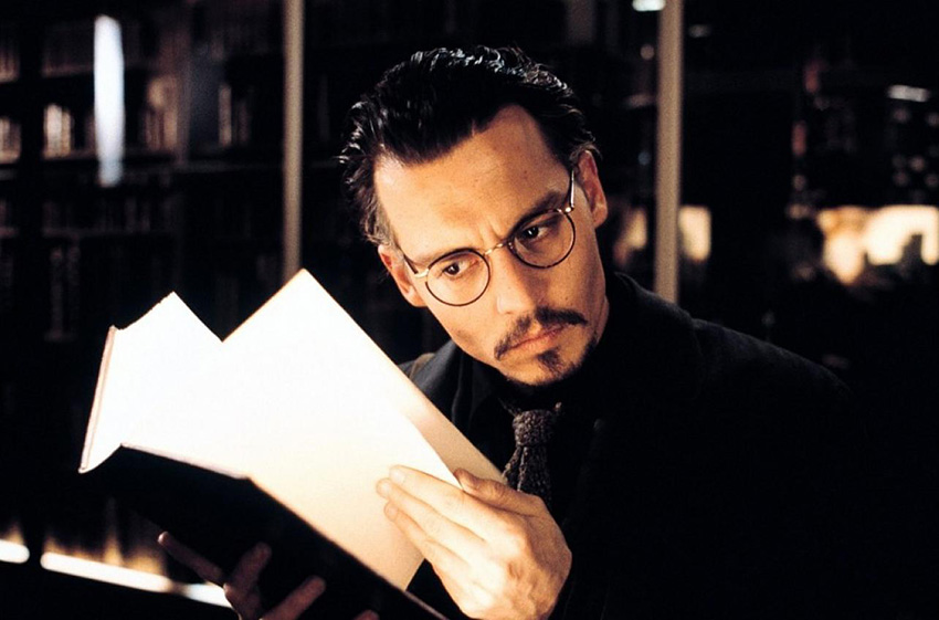 the-ninth-gate-johnny-depp-book
