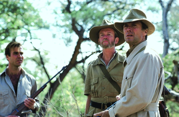 still-of-clint-eastwood-jeff-fahey-and-conrad-asquith-in-white-hunter-black-heart