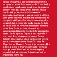 Mi libro: 'EL CINE ESCULPIDO EN 200 PELÍCULAS. Itinerario histórico del cinéfilo gafapasta'.