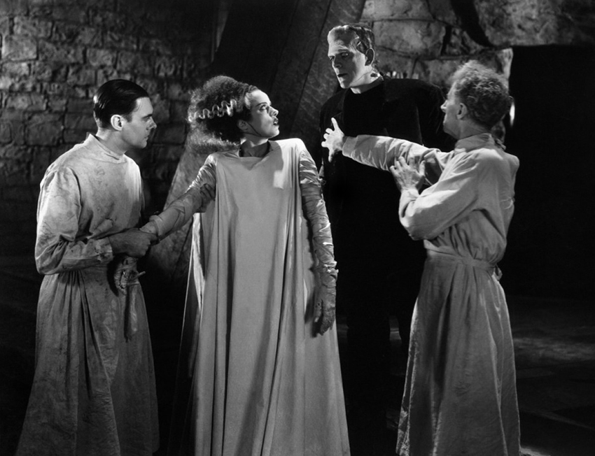 1935 The bride of Frankenstein - La novia de Frankenstein (ing) (still) 40