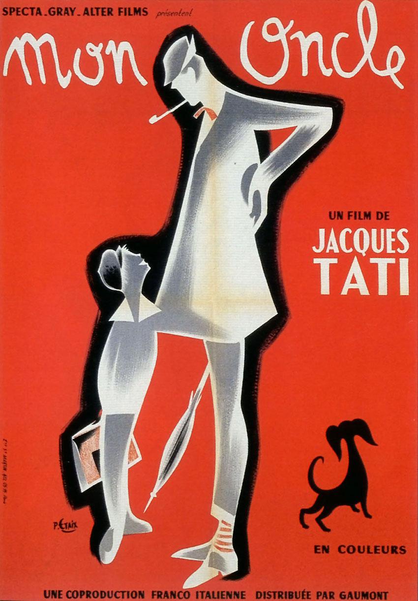Mi Tío Mon Oncle 1958 De Jacques Tati Esculpiendo El Tiempo 2 0